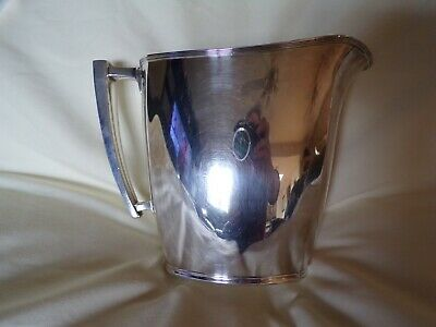 Vintage Silver Community Plate Water Pitcher With Patina