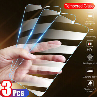 2 PACK 9H Real HD Clear Full Tempered Glass Film Screen Protector For CellPhone