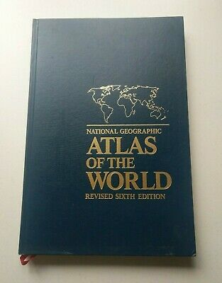 National Geographic Atlas of the World Revised Sixth Edition (1992, Nat. Geo.)
