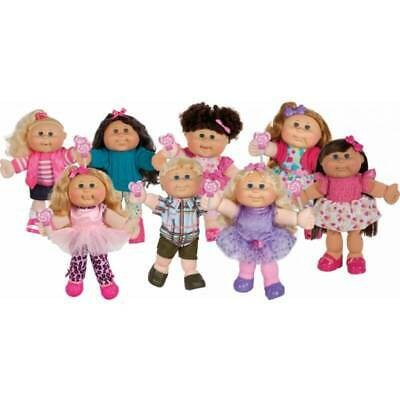 Cabbage Patch Kids Lots of Licks Dark Brown Hair Assorted 14 Inch