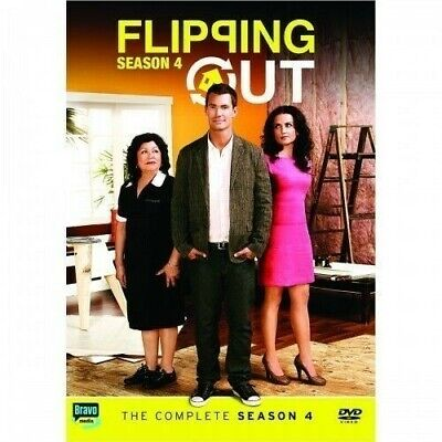 Flipping Out ~ Complete Fourth Season 4 - 3 DISC DVD SET
