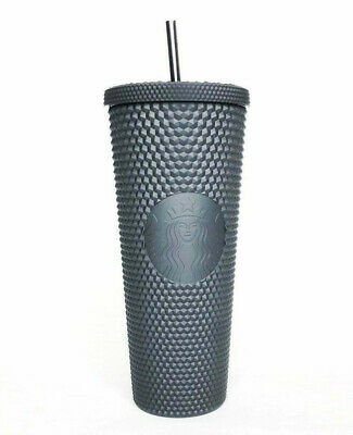 Starbucks 2019  Matte Black Studded Cold Cup Tumbler SAME DAY SHIPPING