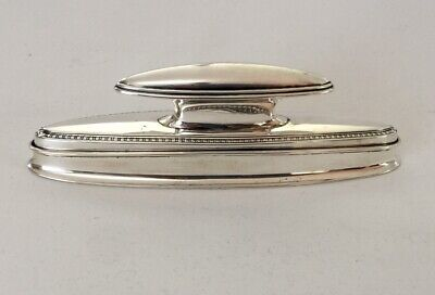 Rare Vintage Gorham Sterling Silver Nail Buffer and Tray Set
