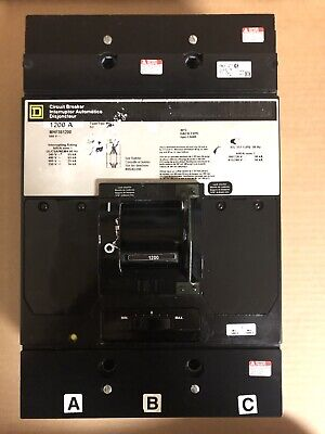 Square D MHF361200 1200 Amp Circuit Breaker TESTED