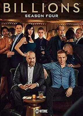 Billions Season Four DVD Free Shipping PreOrder Release date 9/24/19