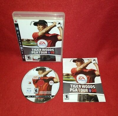 Tiger Woods PGA Tour 08 (Sony PlayStation 3 PS3, 2007)