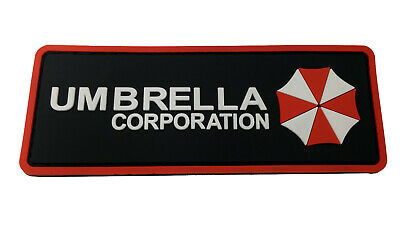 PVC Umbrella Corp Resident Evil Tactical Costume Patch