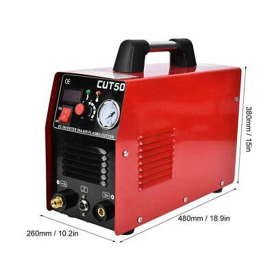 Cut Plasma Cutter Welder Cutting Machine Set Machine 4.5KVA 10-50A