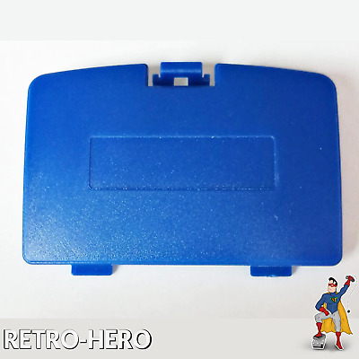 GameBoy Color Akku Batterie Deckel Klappe fach Game Boy Pokemon Pikachu Blau