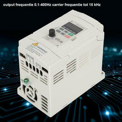 Drive Inverter Variable Frequency AC Motor Speed VFD Single To 3 Phase 220V NEW