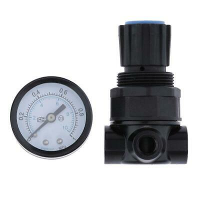 NR200 Air Pressure Regulating Air Treatment Relief Valve w/ Gauge 0-1MPa