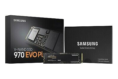 250GB and 500GB Samsung V-Nand SSD 970 Standard and Plus EVO NVMe M.2