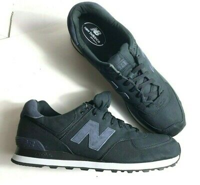 Men's New Balance 574 Canvas BlackOuterspace ML574MDC