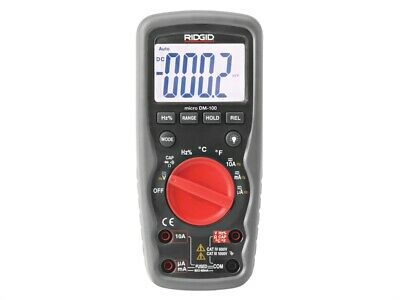RIDGID RID37423 DM-100 Micro Digital Multimeter 37423
