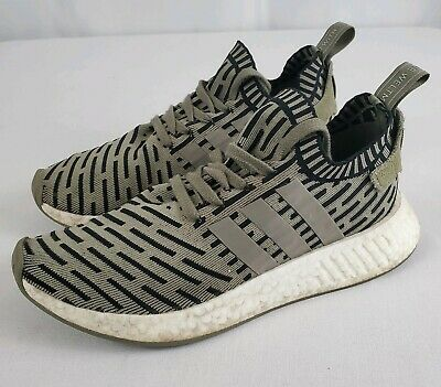 best authentic c7cf8 8b5d3 NEW ADIDAS NMD R2 PK Trace Cargo Olive Green Black (BA7198 ...
