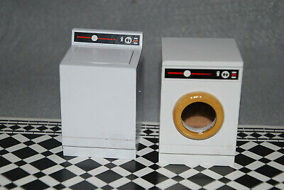 Drying Rack /& More 91706 Dollhouse Miniature Complete Laundry Room Set w// Iron