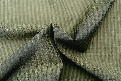 E30 DELUXE SUPER FINE150/'s PURE VIRGINE WOOL IVORY /& TAUPE GINGHAM MICRO CHECK