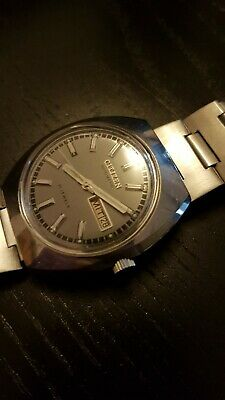 CITIZEN VINTAGE AUTOMATIC 21 Jewels Steel 72-0291 - EUR 20