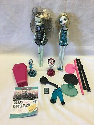 Two Monster High Dolls + Accessories