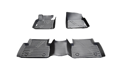 For 2018-2020 Toyota Camry 3D Floor Mats All Weather Protection TPE Liners Black