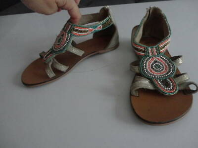 New Look  Beautiful Sandals Girls Shoes Size 2 Uk