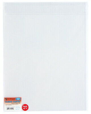 Jack Richeson Clear Carve Etch Plates, 12 x 16 Inches