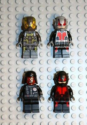 LEGO Avengers Ant-Man Lot of 4 Minifigures - End Game Superheros - Marvel Comics