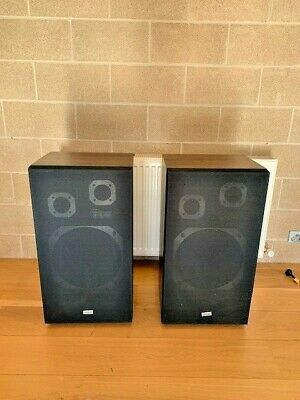 Retro Stereo Onkyo Speakers Only Work Find One Corner Chipped