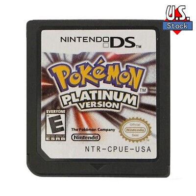 Brand New Pokemon Platinum Version Game Card for DS 2/3DS NDSI NDS NDSL Lite US