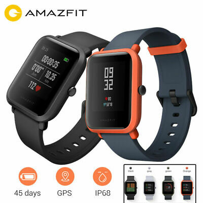 Xiaomi Huami AMAZFIT Bip GPS Smart Watch Bluetooth 4.0 Heart Rate Monitor Global