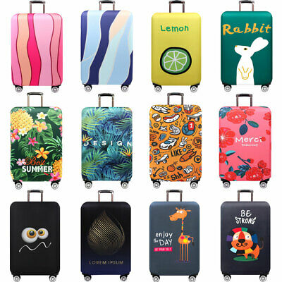 Thick Elastic Luggage Protector 18 -32 inch Travel Suitcase Cover Anti Scratch