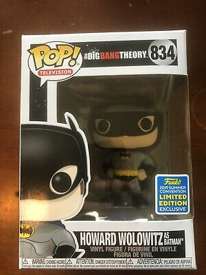 Funko Pop! The Big Bang Theory: Howard Wolowitz As Batman #834 - Shared SDCC Exc
