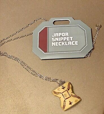 Disney Star Wars Galaxy's Edge Japor snippet Necklace Padme Amidala Anakin Gift