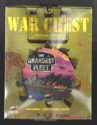 The Grandest Fleet.  PC Game. 1990's Vintage . New and Complete.