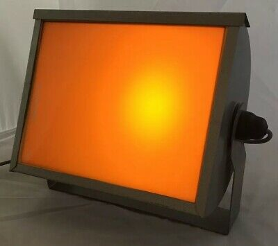 Great Vintage Ilford Safelight S902 Orange Filter Metal Wall Mountable Darkroom