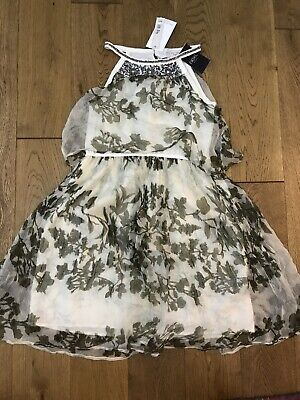 Bnwt Girls Nexty Signature Collection Formal Special Sequin Dress Age 8 Years