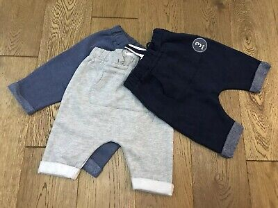 Bnwt Next Baby Boys 3 Pack Cotton Shorts Age Up To 3 Months