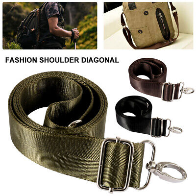 Replacement Nylon Shoulder Camping Bag Adjustable Strap Luggage HandBag Belt