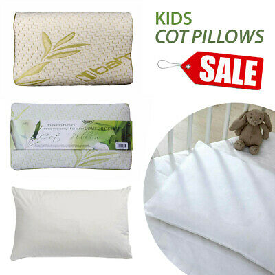 New Anti Allergy Cot Bed Pillows Nursery Baby Toddler Junior Memory Foam Pillow