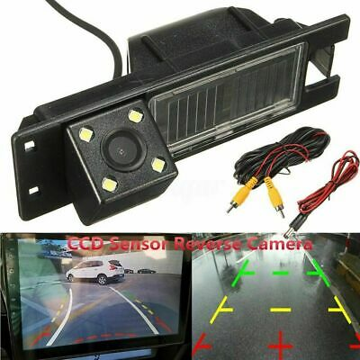 Car Rear View Reverse Camera For Opel Astra H J Corsa Meriva Vectra Zafira 4 LED
