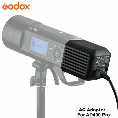 Godox AC400 AC Power Unit Source Adapter with Cable for AD400PRO Speedite Flash