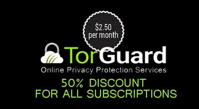 Torguard 50 % off Coupon / promo code / discount /50% Off For Life Code