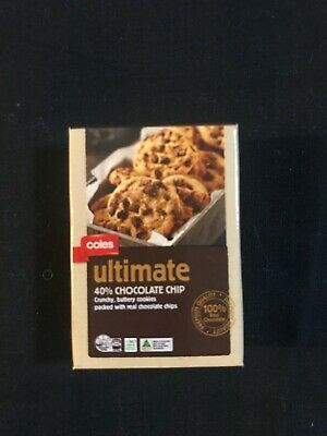 2019 Coles Little Shop 2 Mini Toy, Choc Chip Cookie, New, Perfect Condition