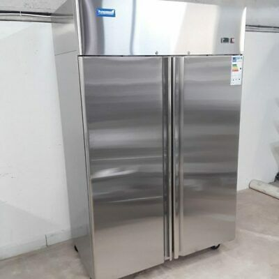 Commercial Fridge Double Door Upright Chiller Stainless Arctica HED101