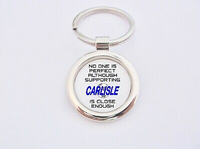 Almost Perfect Supporting Carlisle Key Fob Bottle Opener Keyring Badge Gift