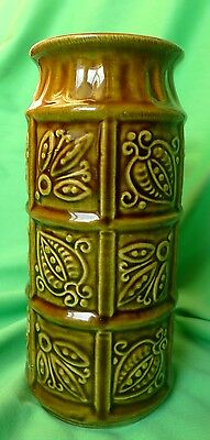 Vintage West German Pottery ceramic Decor Collectibles VASE W. Germany BAY 74 17