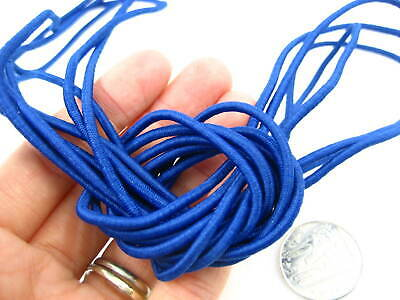 25ms 3mm dark blue Round Elastic cord sewing accessories 3mm stretch bungee cord