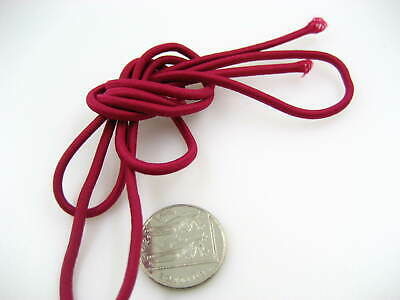 25ms 3mm wine Round Elastic cord sewing accessories 3mm stretch bungee cord