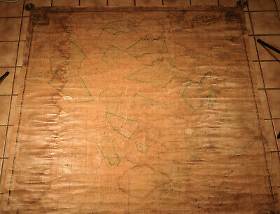 """Huge """"TOPOGRAPHICAL MAP OF ESSEX COUNTY MASSACHUSETTS"""" by Walling -  1856"""