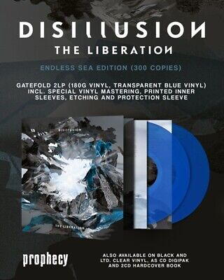 Disillusion - The Liberation  ++Limited+++ 2 Vinyl Lp Neu